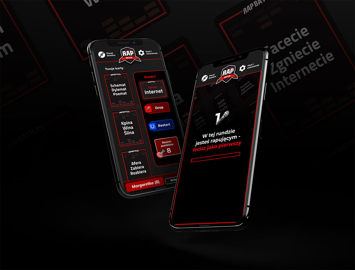 UX UI Design aplikacji